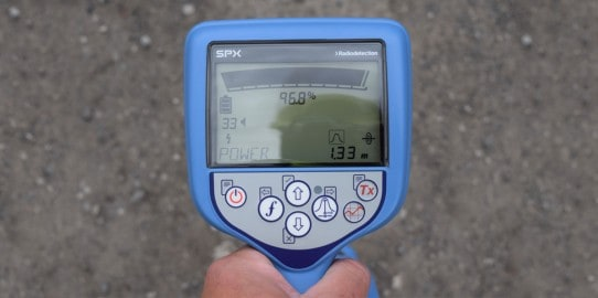Image of utility mapping equipment